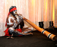 Aboriginal Indigenous entertainer